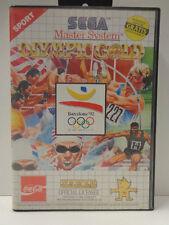 Master System - Olympic Gold Barcelona ´92 (mit OVP + Bonusheft) 10632925