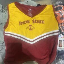 FANATICS IOWA STATE CHEERLEADER OUTFIT GIRLS 14-16 WITH TAGS