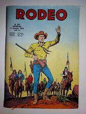 bd RODEO N° 257 LUG 5-1-1973 LUG miki le ranger TEX