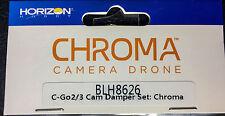 BLADE CHROMA CGO2/3 CAMERA MOUNT DAMPER SET (4)  BY BLADE HELIS BLH8626