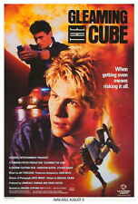 GLEAMING THE CUBE Movie POSTER 27x40 B Christian Slater Steven Bauer Min Luong