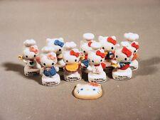 Hello Kitty Chef set Porcelain French Feves HELLO KITTY EN CUISINE