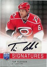 08-09 BE A PLAYER BAP SIGNATURE AUTOGRAPH AUTO TIM GLEASON HURRICANES *33848