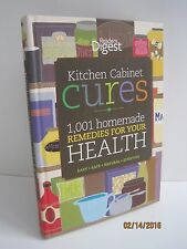 Kitchen Cabinet Cures: 1001 Homemade Remedies For Your Health by Reader's Digest