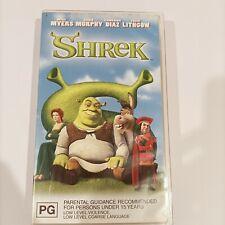 Dreamworks Shrek vintage Retro 90s VHS