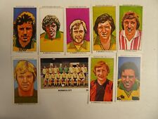 7  NORWICH CITY   football cards