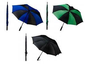 """Golf Umbrella Mens Womens Large 40"""" Sport Parasol Foam Handle"""