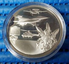 1993 Singapore 25th Anniversary of RSAF 1 oz Silver Proof Medallion