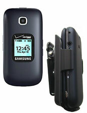 Samsung cell phone Gusto 3 SM-B311V Holster w Rotating Swivel Belt cli