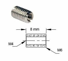 Adaptateur de filetage - M6 M4 - Thread adapter adaptor External Internal Metric