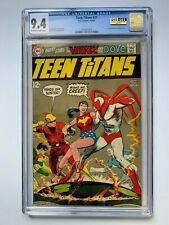 TEEN TITANS #21, DC Comics, CGC 9.4, Hawk & Dove appearance