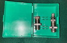 Rcbs Carbide .45 Acp Rn 2-Die Reloading Set #18909 - Mint Condition