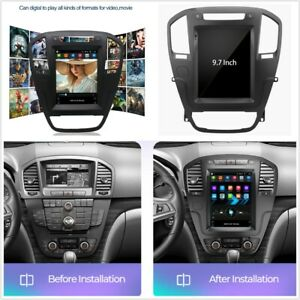 9.7'' Android 10.1 Stereo Radio GPS WiFi FM For Opel Insignia Vauxhall 2008-2013
