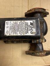 Taco 007 F3 Flange Cast Irin Circulator Pump