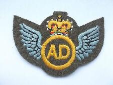 original vintage post war air dispatch specialist trade qualification patch