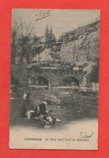 Luxembourg - LE Bock avec le pont du Stiérchen  (J6376)