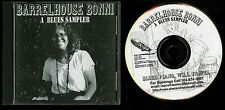 Barrelhouse Bonni A Blues Sampler CD piano blues indie
