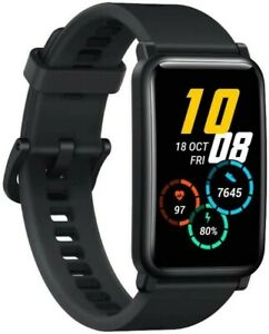 HONOR Watch ES - Black, AMOLED Touch-Display, 5 ATM, 4 GB Speicher, BRANDNEU