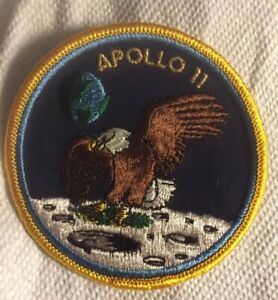 Apollo 11 Authentic 1969 patch Made For NASA By Lion Brothers Mint