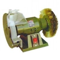 Smerigliatrice da banco/Mola con spazzola 150mm 150W