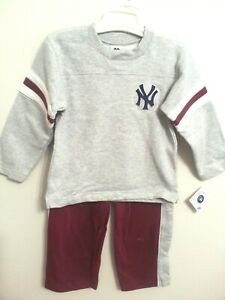 New York Yankees MLB 2-Piece Sweatshirt and Pants Set Youth Size 4