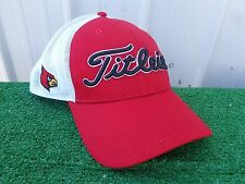 Titleist Louisville Cardinals Mesh Back Adjustable SnapBack Red Golf Hat Cap NEW