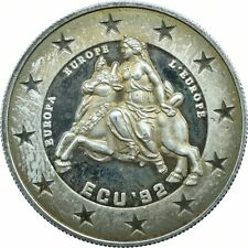 PATTERN COIN SILVER /PROOF / GERMANY '92 /  GREECE      #WT17401