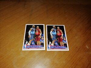 Kobe Bryant  and  Lebron James NBA panini  No 256 2012 / 2013  ONE sticker