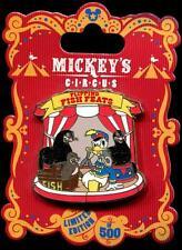 Mickey's Circus Program Acts Donald and Seals LE 500 Disney Pin 90526