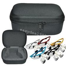 Hot Black Portable Zipper Cloth Bag Box Carry Case for Dental Surgical loupes