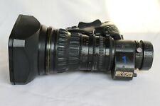 Fujinon HA18x7.6 BERM-M48 HD 2/3'' B4 HD lens A++ HD or 4K or Blackmagic Camera