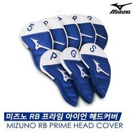 8Pcs Mizuno RB Prime Golf Iron Club Head Cover Sporting Goods Leather_emga
