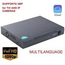 5 in 1 Tvi -Dvr 8Ch 1080N Ahd-Nh Dvr Hybrid Dvr/1080P Ip Nvr Video Recorder