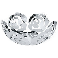 Alessi La Rosa Fruit Bowl in 18/10 Stainless Steel