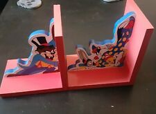 Looney Tunes Book Ends 1996 warner brothers taz tweety bugs bunny Sylvester