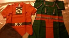 10 x Multicultural dressing -up children costumes school/ Early years