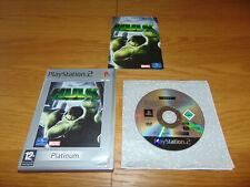 HULK - Marvel Incredible Hulk - Platinum (Sony PlayStation 2 PS2) PAL