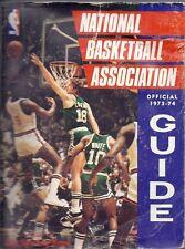 1973-1974 National Basketball Association Guide