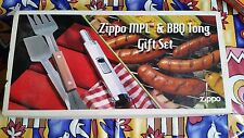 Très RARE ORIGINAL ZIPPO promotion MPL BBQ tong Set Barbecue Set RAR!