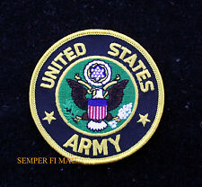 """US ARMY 3"""" HAT PATCH USA EAGLE SEAL LOGO EMBLEM PIN UP FORT CAV INF ARTI GIFT"""