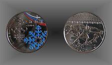 Medaille Gedenkprägung Slowakei Olympische Winterspiele Sotschi 2014 Russland