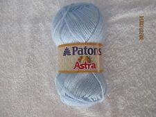 Patons Astra SKY Blue 1.75 oz 100% Acrylic DK Sport #3 SDL Super Soft