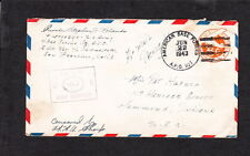 WWII APO 921 Australia  Censor Air Mail 6c PSE Cover q3