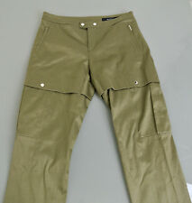 $995 NEW Authentic Gucci Skinny Riding Pants w/Zipper, 44 #255239