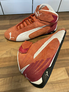 Puma Racing Rally Cat Trainers High Tops Boots 300347 Red UK 10.5 EU45
