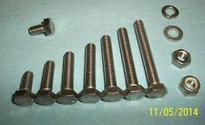 METRIC BOLTS M6 STAINLESS STEEL HEX HEAD SCREW SCREWS 6MM