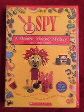 NEW DVD I Spy - A Mumble Monster and Other Stories  SEALED Children's Video