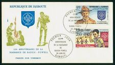 Mayfairstamps Djibouti 1982 Scouts Baden Powell First Day Cover wwo1471