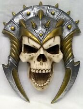 NEMESIS NOW SKULL WALL PLAQUE OR FIGURE – DEMONS BANE DESIGNED BY MONTE M MOORE