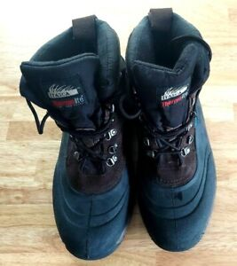 Itasca Mens Boots Size 12 Thermolite Thin Insulation Heavy Winter Boots Nice